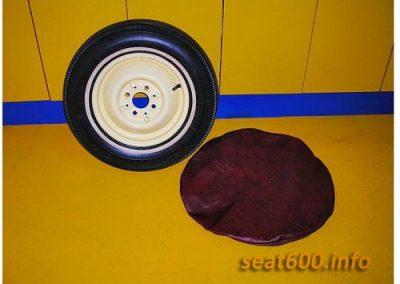 funda rueda de recambio