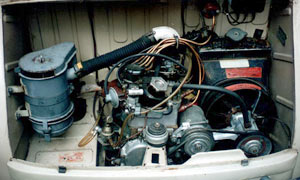 Filtro de aire Seat 600