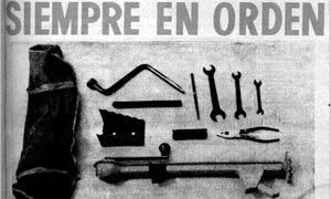 Dotación variada de herramientas