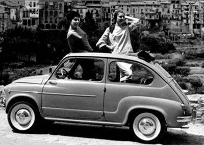 Versión Seat 600 descapotable