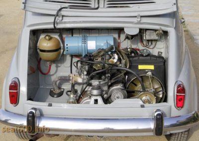 Motor del Seat 800