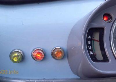 Tres pilotos o testigos principales del Seat 600 D